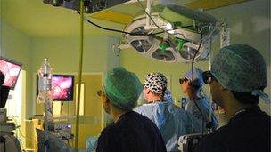 3D surgery