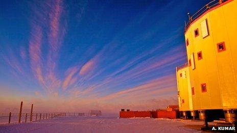 Concordia station, Antarctica  A. Kumar
