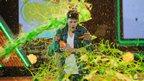 Nickelodeon Kids' Choice Awards 2012 - Justin Bieber gets gunged!