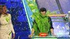 Nickelodeon Kids' Choice Awards 2012 - Chris Colfer gets gunged!