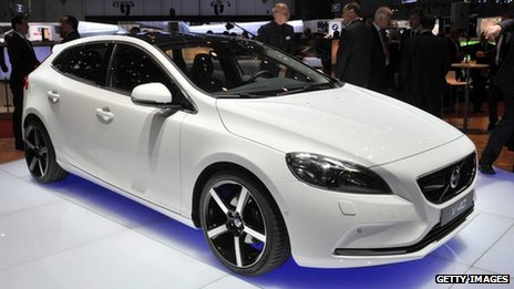 Volvo Cars prepares for Chinese production to start - BBC News