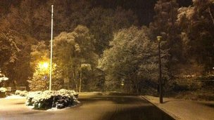 Snow in Aboyne