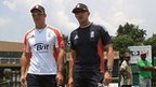 Andrew Strauss & Andy Flower