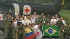 Freed Farc hostages