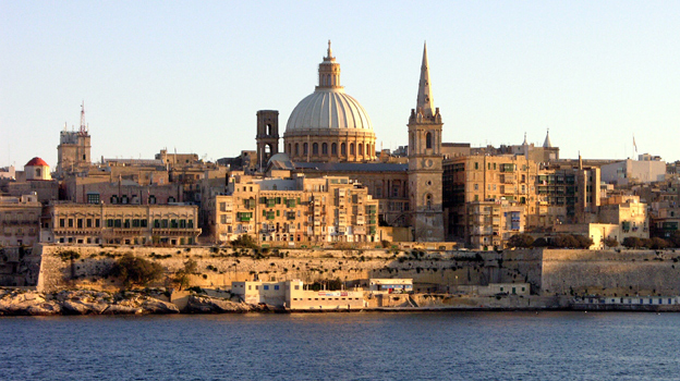 Valletta seafront 