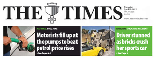 Banner of The Times
