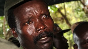 Joseph Kony, leader of LRA