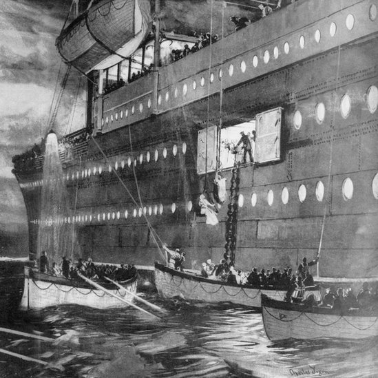 Bbc News In Pictures Titanic Remembered