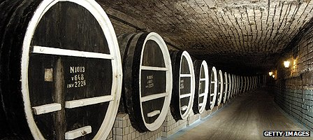 Moldova wine cellar