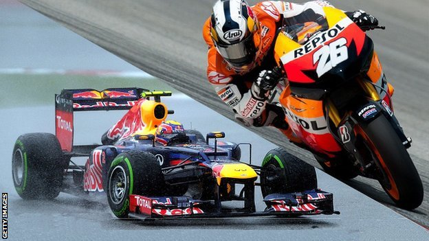 Webber &amp; Pedrosa
