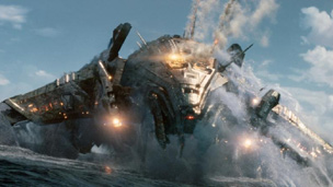 Image of alien spaceship from Battleship