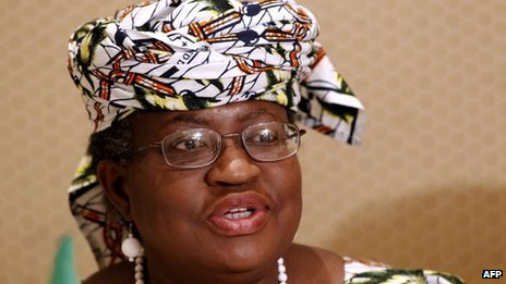 Ngozi Okonjo-Iweala in March 2012