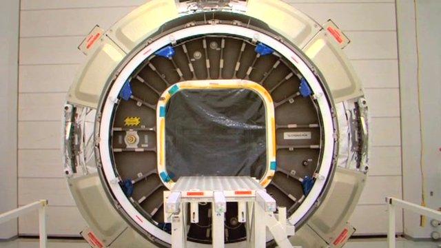The Orbital cargo module