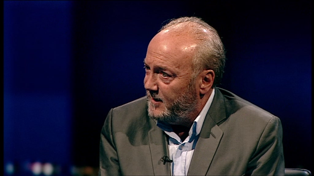 Mr Galloway alluded to rebellions in the Arab world by saying ...