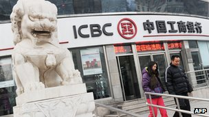 ICBC branch in China