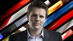 BBC Formula 1 presenter Jake Humphrey
