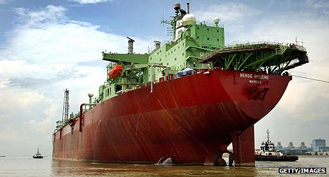 Tanker heads for Mauritania's offshore oil fields