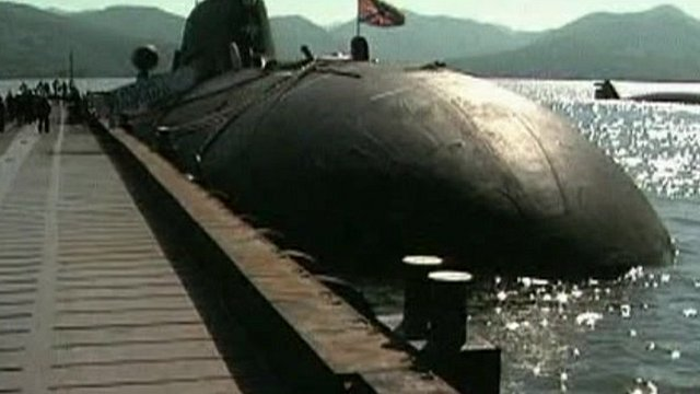 India lease submarine from Russia and name it the INS Chakra ll
