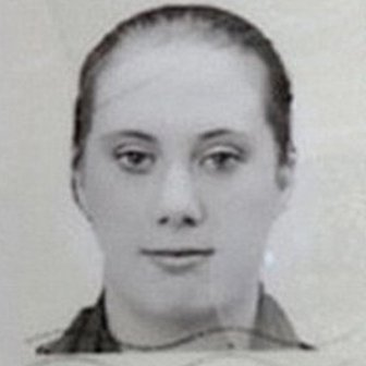 A photo from a passport allegedly showing Samantha Lewthwaite under an assumed name