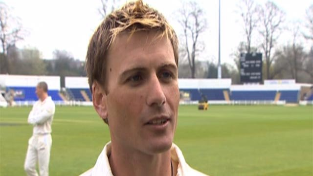Glamorgan captain Mark Wallace