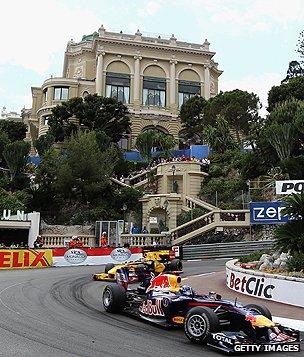 Grand Prix in Monaco