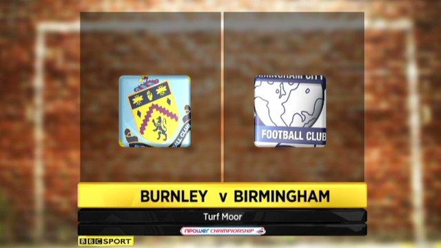 Burnley 1-3 Birmingham