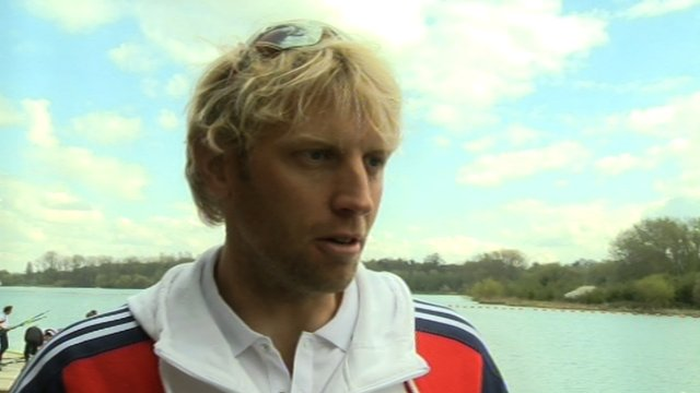 GB rower Andy Triggs Hodge