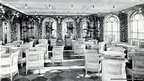 Interior of Titanic's first class - veranda cafe (Copyright: Public Record Office of Northern Ireland)