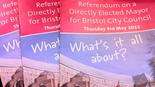 Bristol City Council mayor leaflets