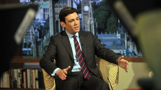 Andy Burnham, shadow health secretary