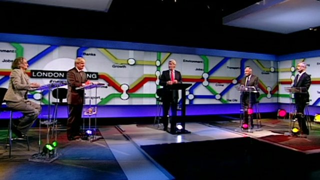 London mayoral candidates