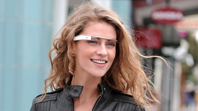 Google reveal futuristic glasses