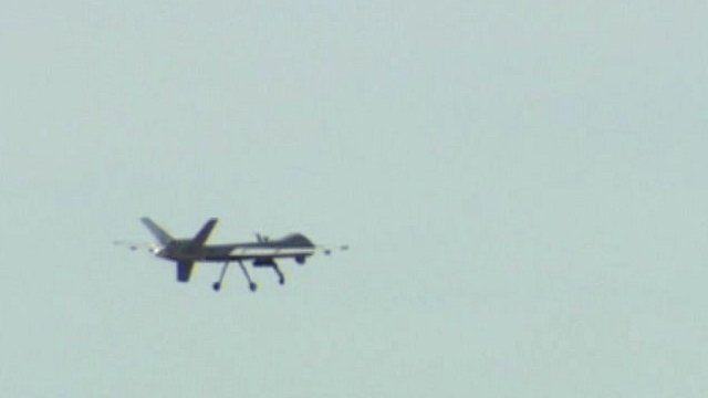 Drones on display in New Mexico