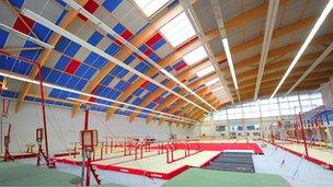 Arques gym in Pad-de-Calais