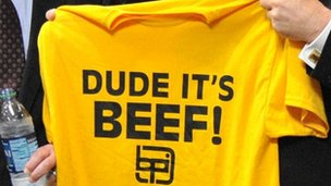 Beef industry T-shirt