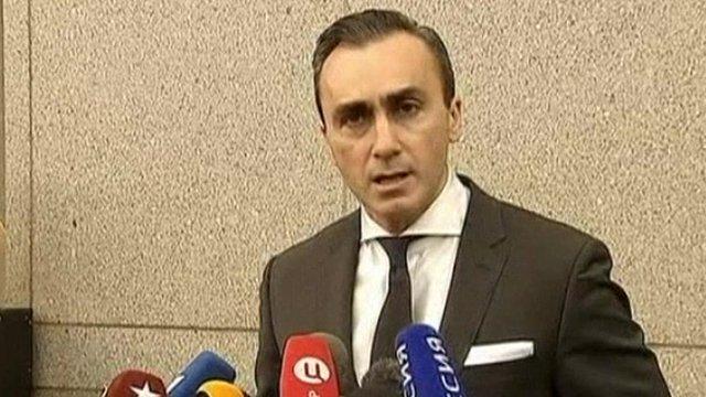 Lawyer Albert Dayan