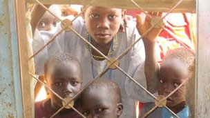 South Sudanese children