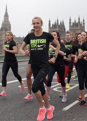 Paula Radcliffe launches British 10k run