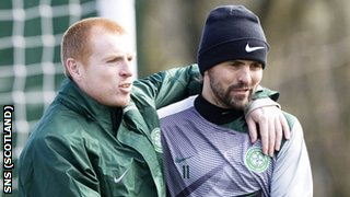 Neil Lennon and Paul Hartley