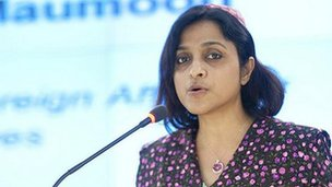 Maldives Foreign Minister Dunya Maumoon