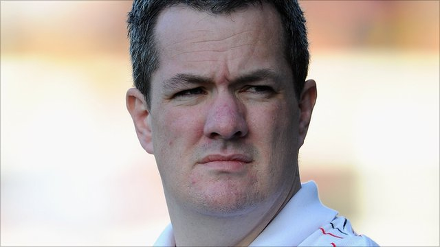 St Helens interim coach Mike Rush