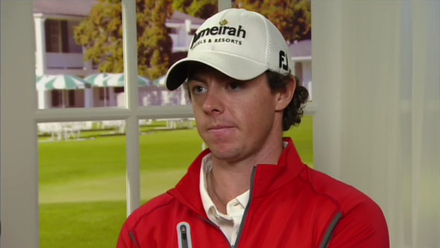 World number two Rory McIlroy