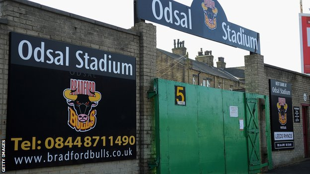 Bradford Bulls&#039; Odsal Stadium