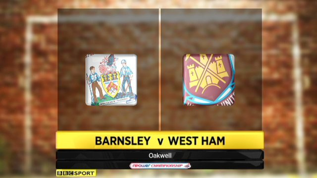 Barnsley 0-4 West Ham