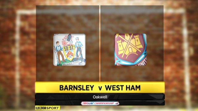 Barnsley 0-4 West Ham