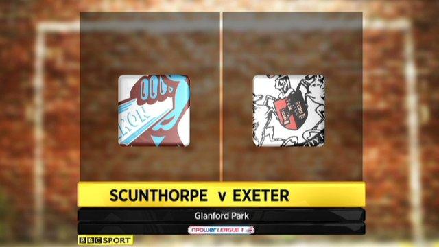 Scunthorpe 1-0 Exeter