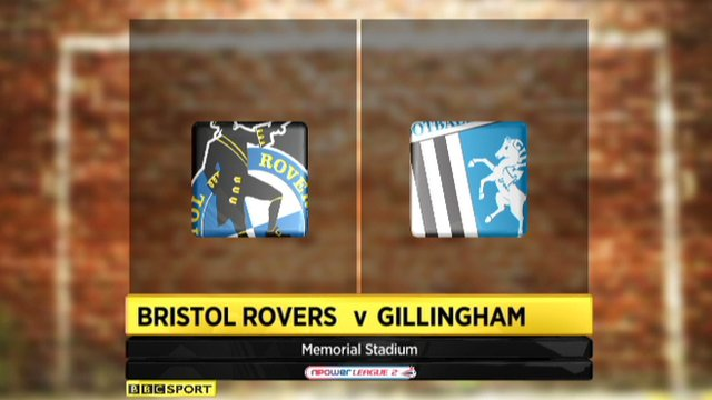 Bristol Rovers 2-2 Gillingham