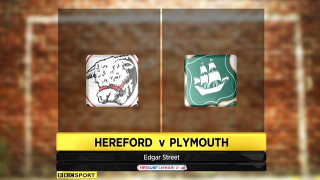 Hereford 1-1 Plymouth