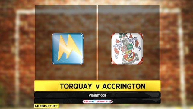 Torquay 1-0 Accrington