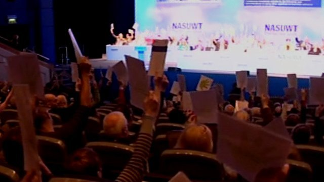 Teaching unions vote for strike action
